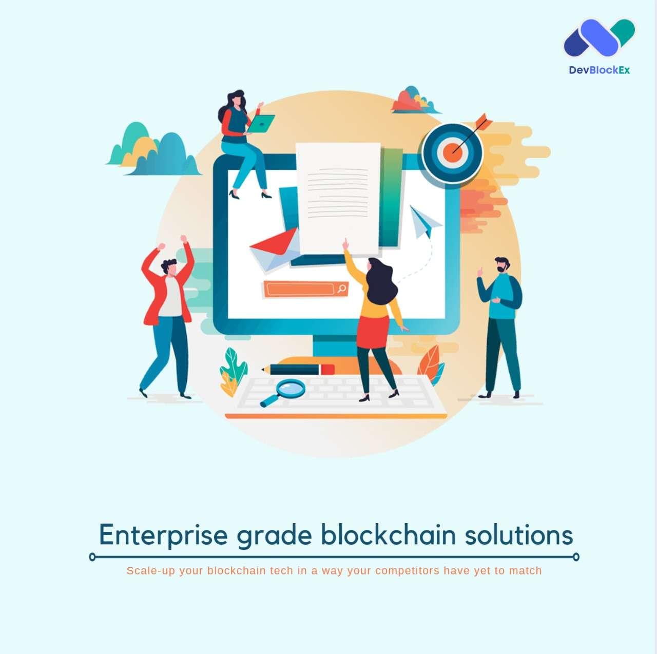 How Big Organizations are Benefitting through DevBlockEx's EnterpriseGrade Blockchain Solutions